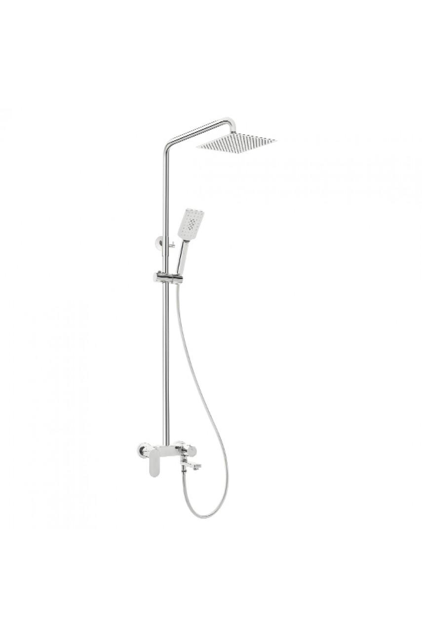 Alpinia Deante душевая стойка cо смесителем для ванны