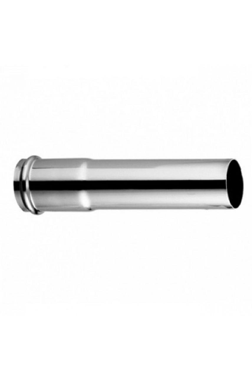 Трубка удленнитель  для сифона Ø 32 х 10см  хром Remer